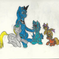 Luna's Silly Creche Discord group (Oil/Wax pastel)