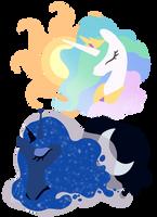 Two Princesses by Pandas-R-Us