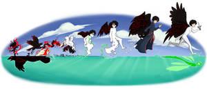 A Raven's Metamorphosis