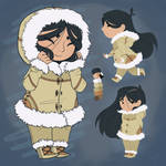 Character Concept_Inuit Girl