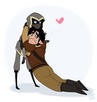DOTL -  A couple of dorks by Pandas-R-Us