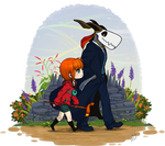 Afternoon Stroll: Elias and Chise