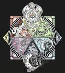 URealms Live T-shirt: Dragon Aspect Mural