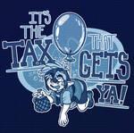 URealms Live T-shirt Design: The Tax That Gets Ya