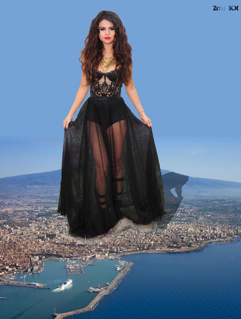 Mega Selena Gomez by ZituKX