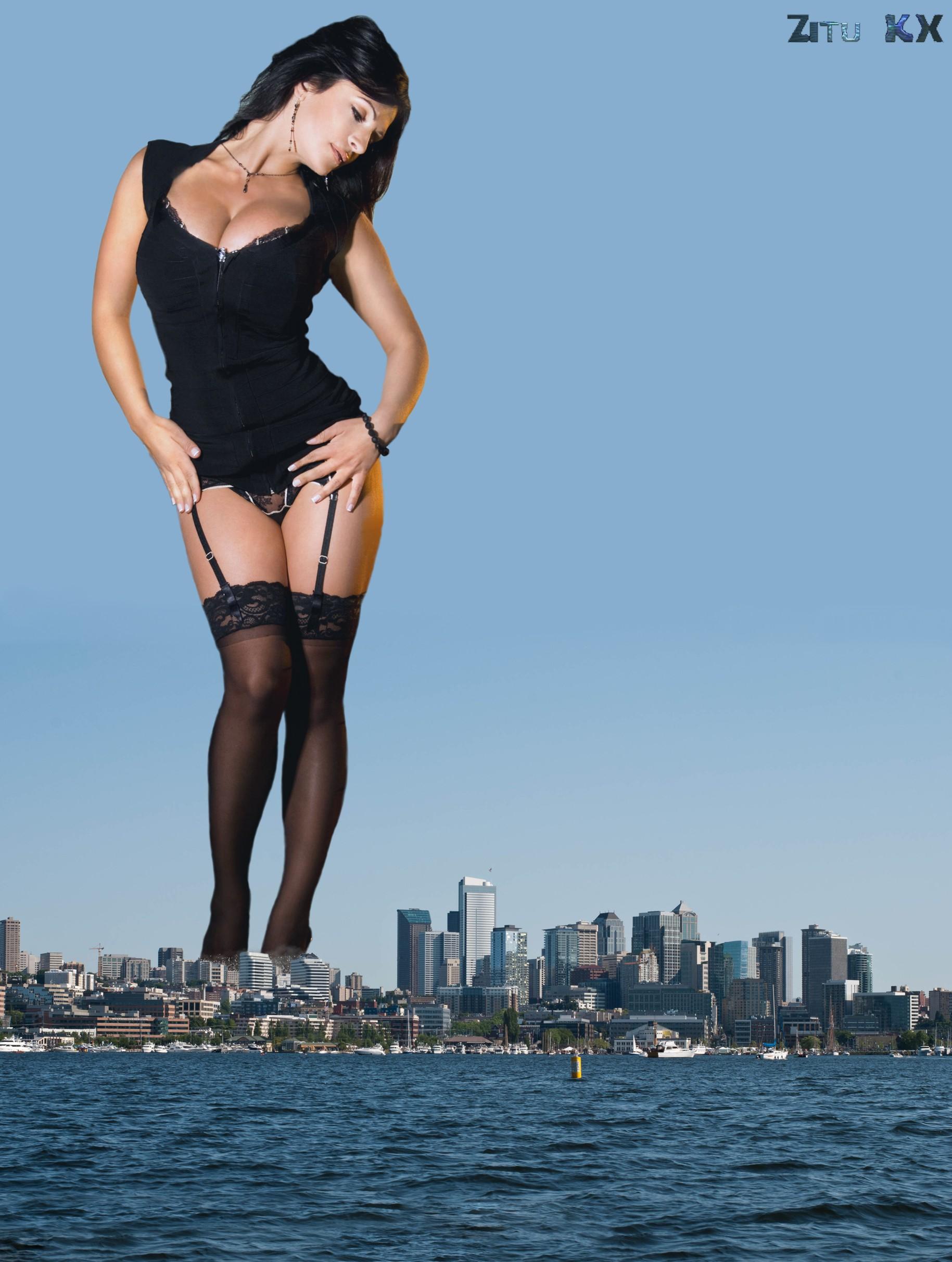 Growing Denise Milani (3) by ZituKX