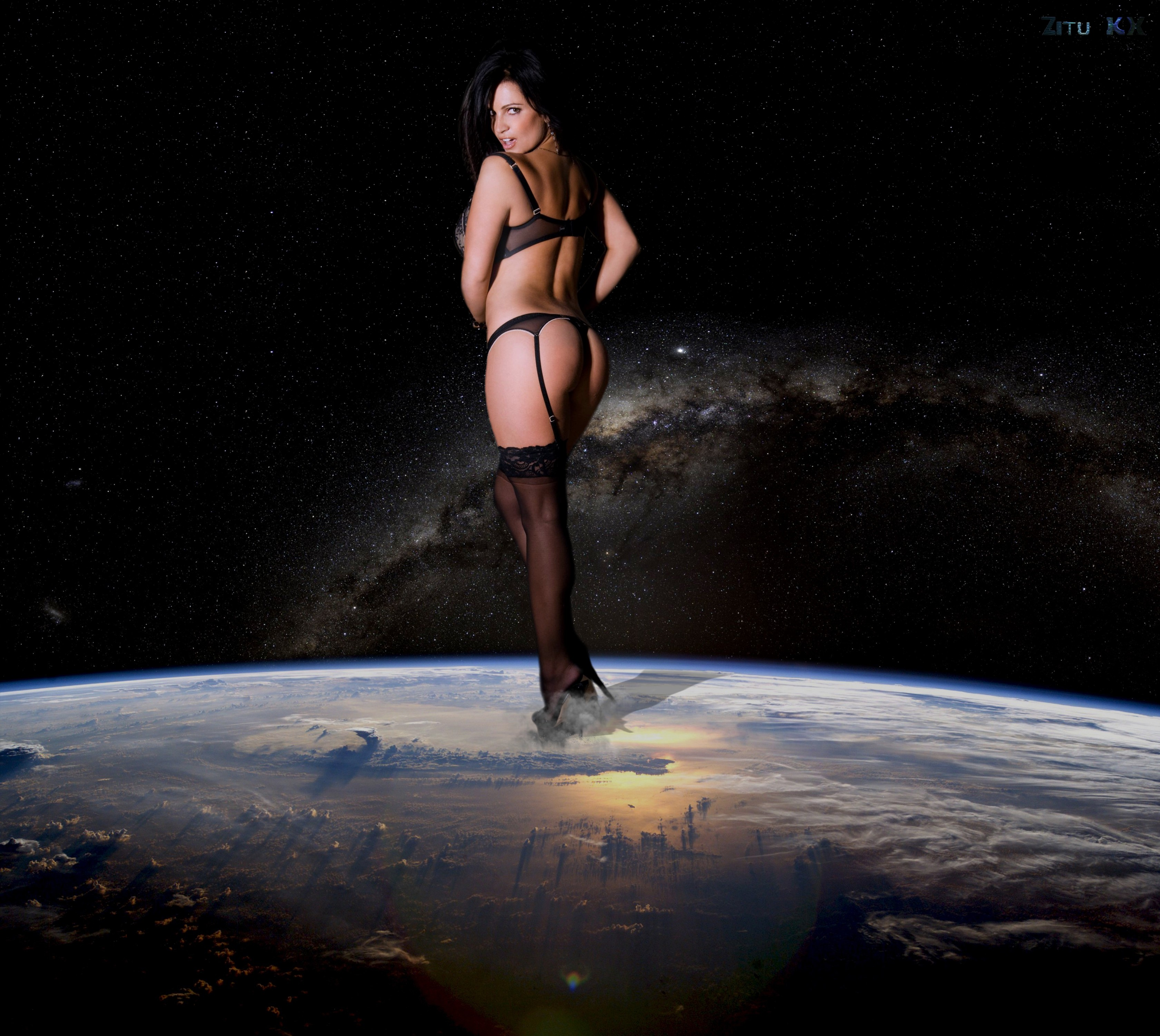 Growing Denise Milani (5) by ZituKX