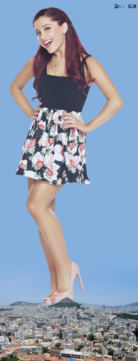 Mega Ariana Grande for Megalover93 by ZituKX