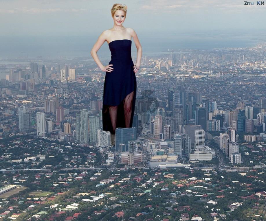 Growing Jennifer Lawrence (1 of 12) by ZituKX