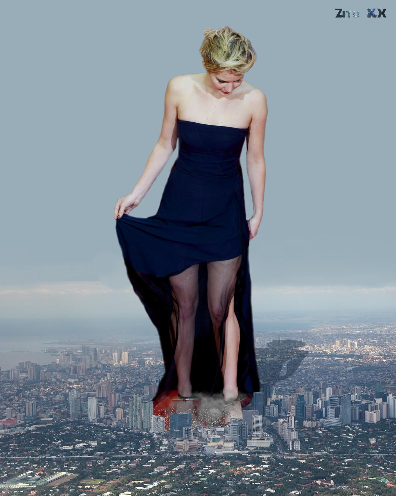 Growing Jennifer Lawrence (2 of 12) by ZituKX