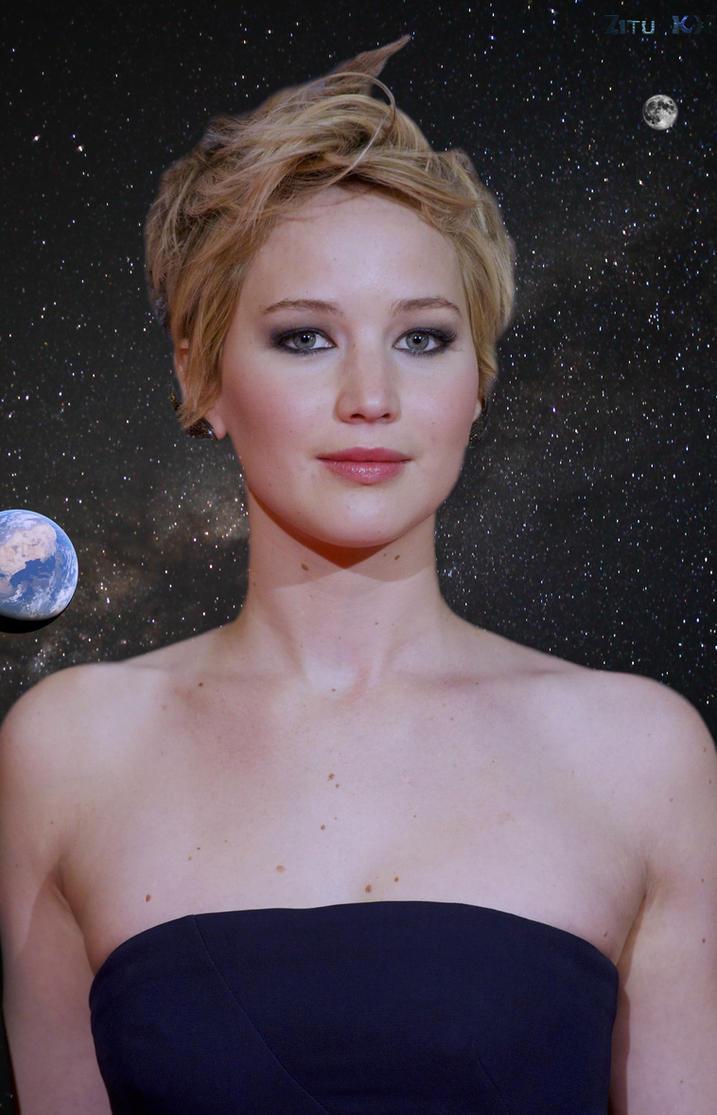 Growing Jennifer Lawrence (7 of 12) by ZituKX