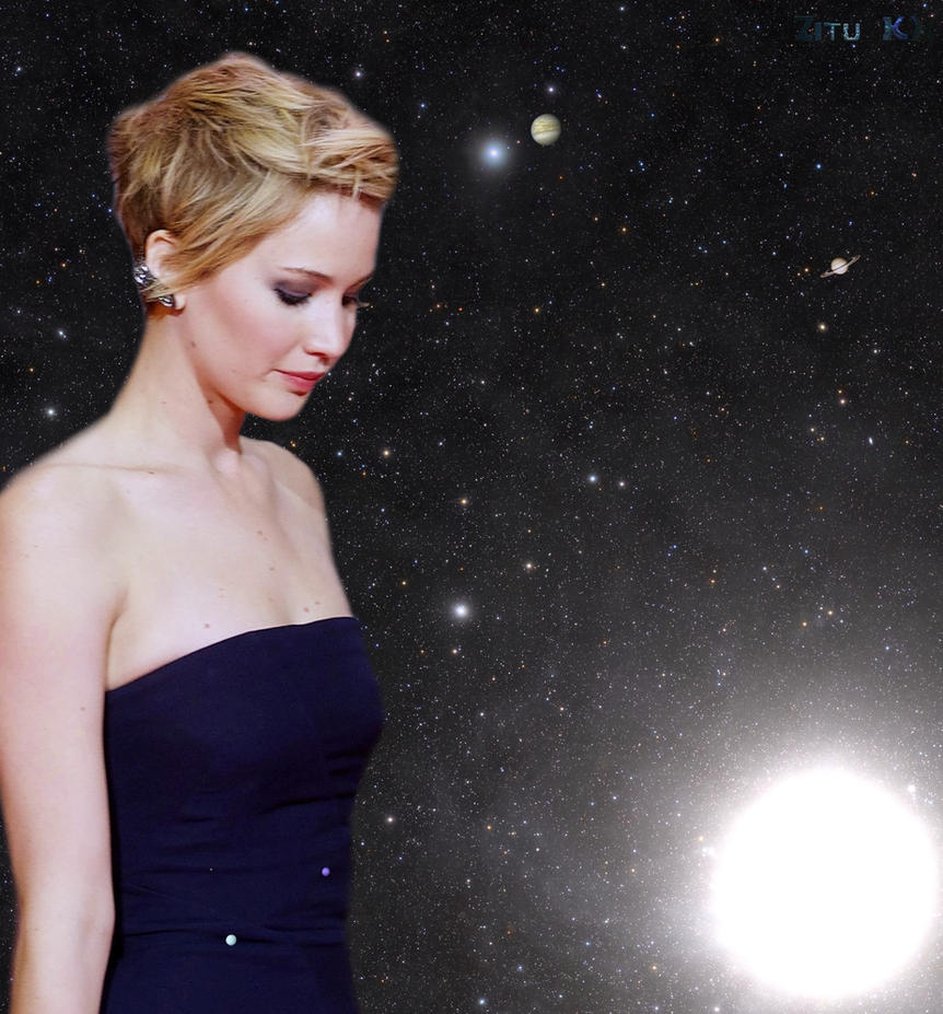 Growing Jennifer Lawrence (8 of 12) by ZituKX