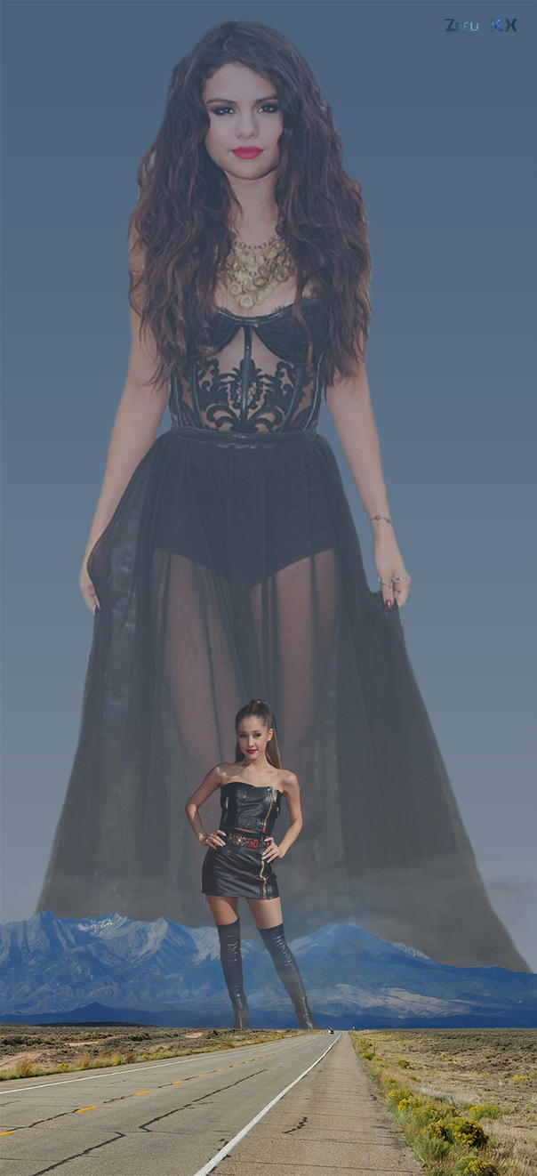 Apocalypse set July 2015 (2/8) Selena Gomez by ZituKX