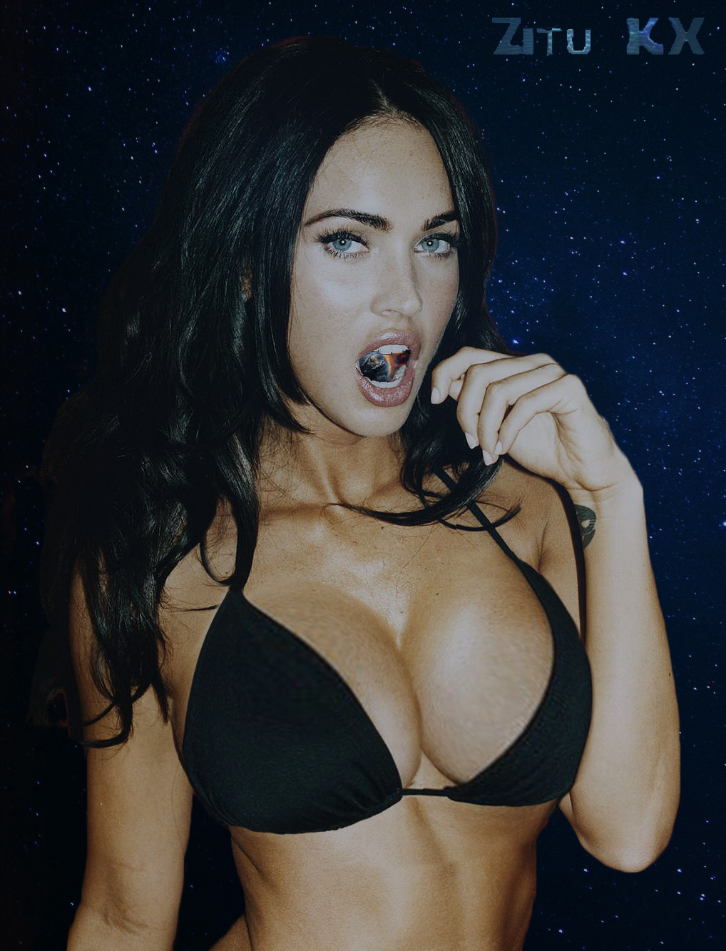 Growing Megan Fox (Breast Expansion) 2/6 by ZituKX