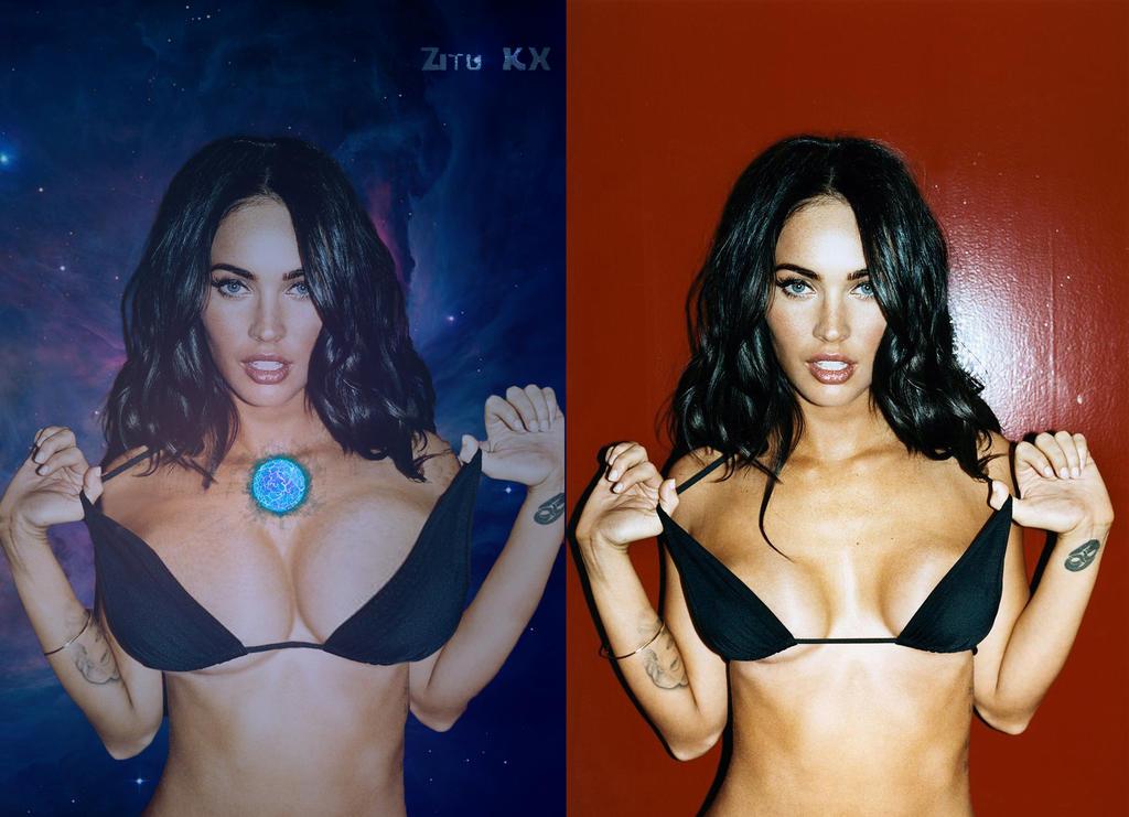 Growing Megan Fox (BE Comparison) 6/6 by ZituKX