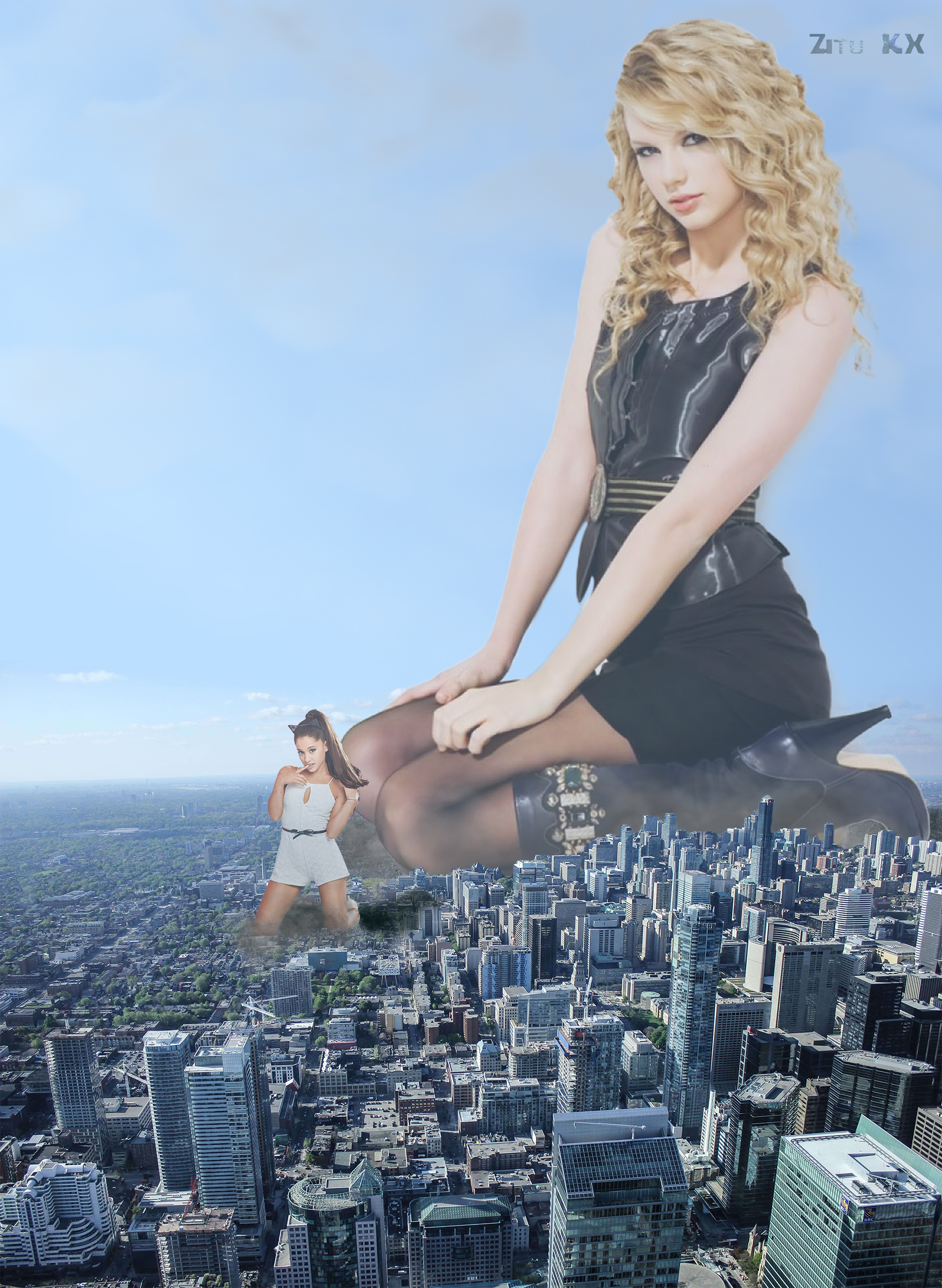 Taylor Swift - Autumn Set 2/7 by ZituKX
