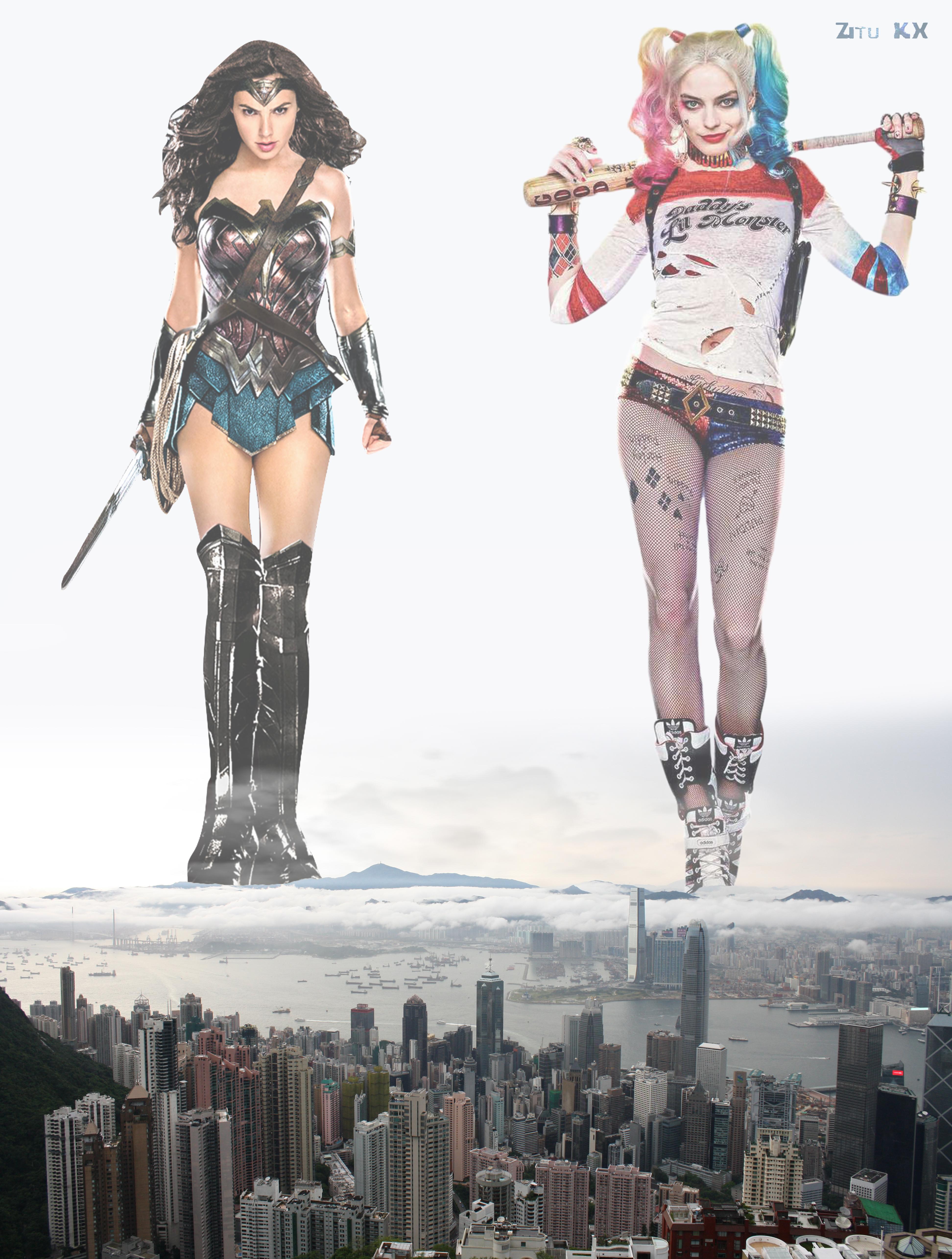 DC giantesses by ZituKX