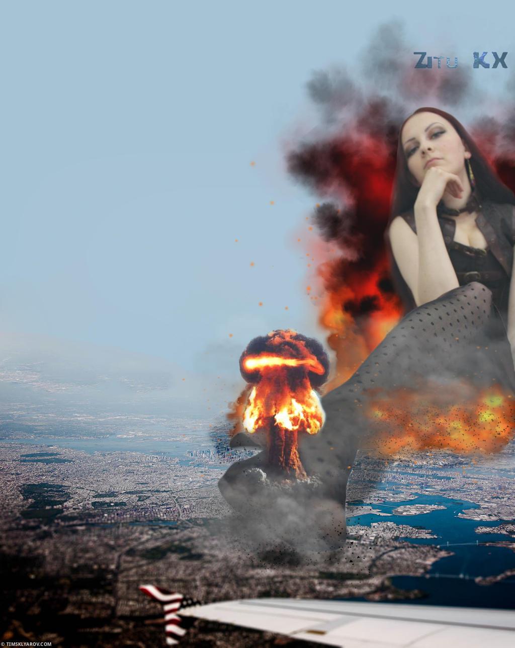 Growing Goddess of Apocalypse 4 by ZituKX