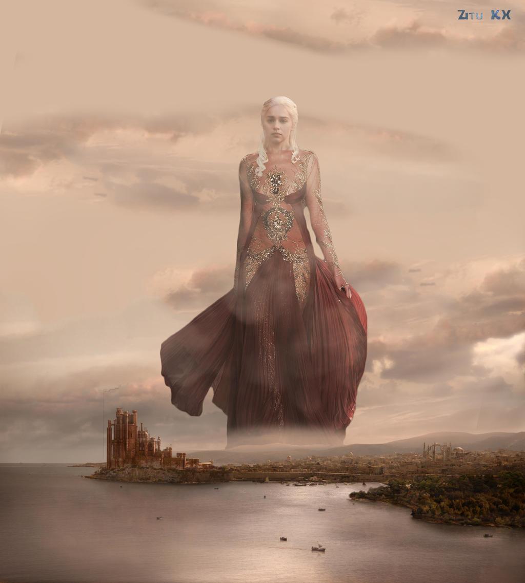 Queen Khaleesi by ZituKX