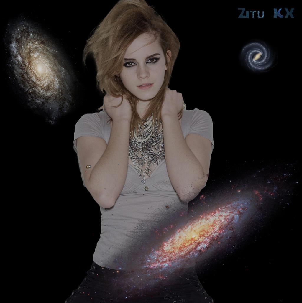 Growing Emma Watson 4/5 by ZituKX