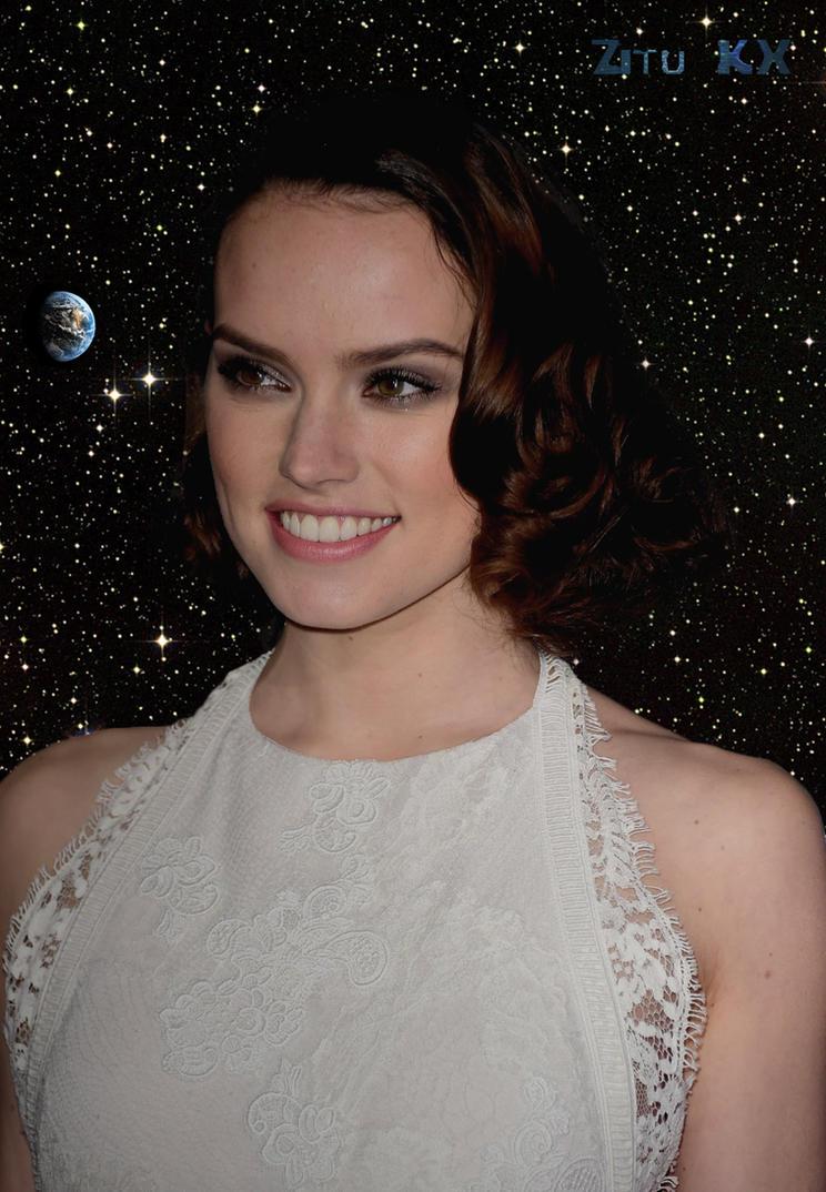 Growing Daisy Ridley 2/5 by ZituKX