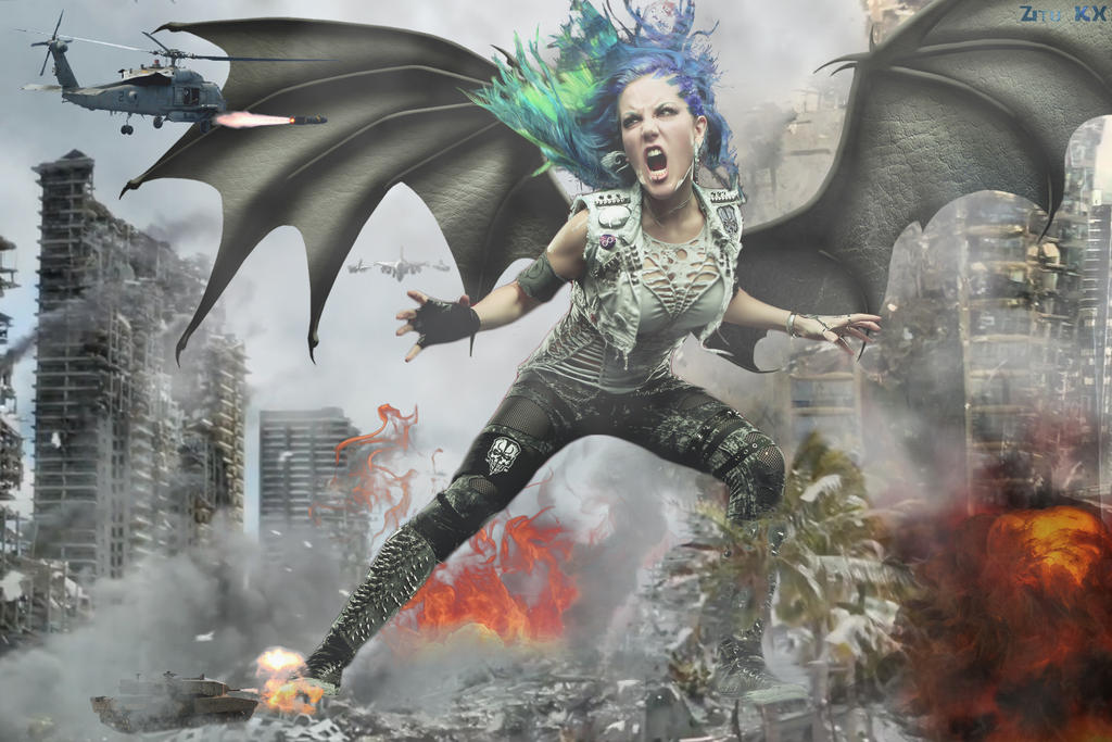 Hell breaks loose (wings) by ZituKX