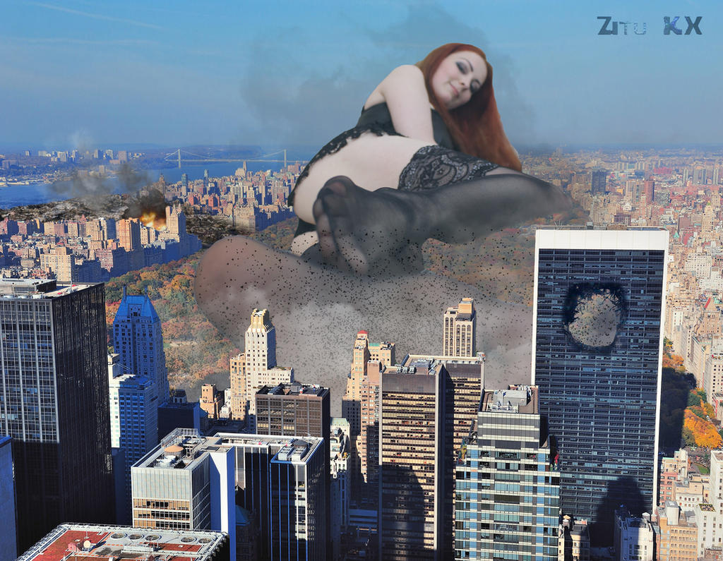 Goddess Amarie having her fun with NYC by ZituKX