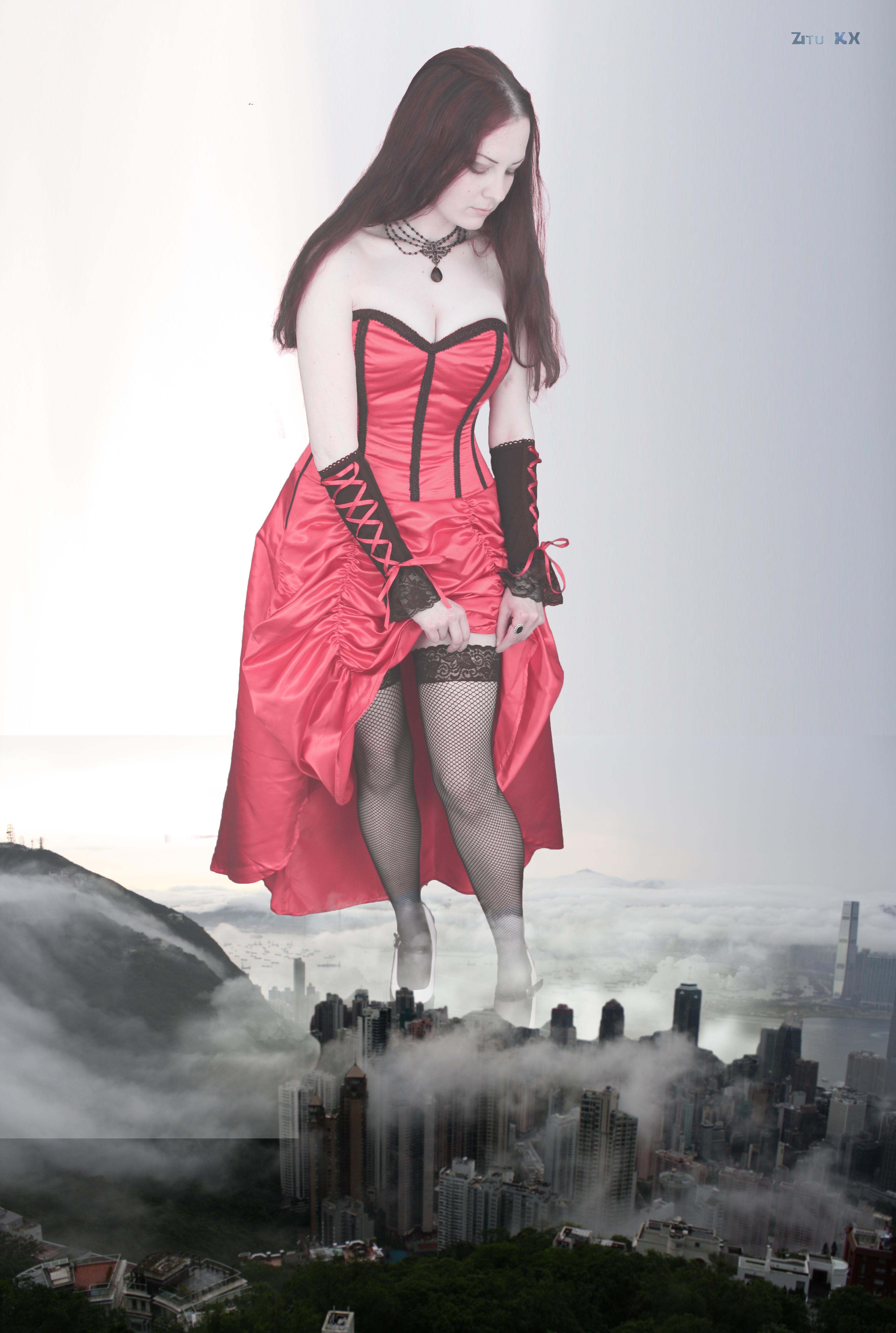 Goddess in the mist by ZituKX