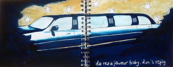Limousine by katiedraws