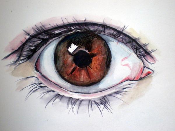 Eye Eye by katiedraws