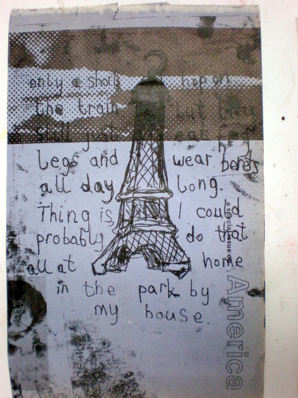 Printing: Paris III by katiedraws
