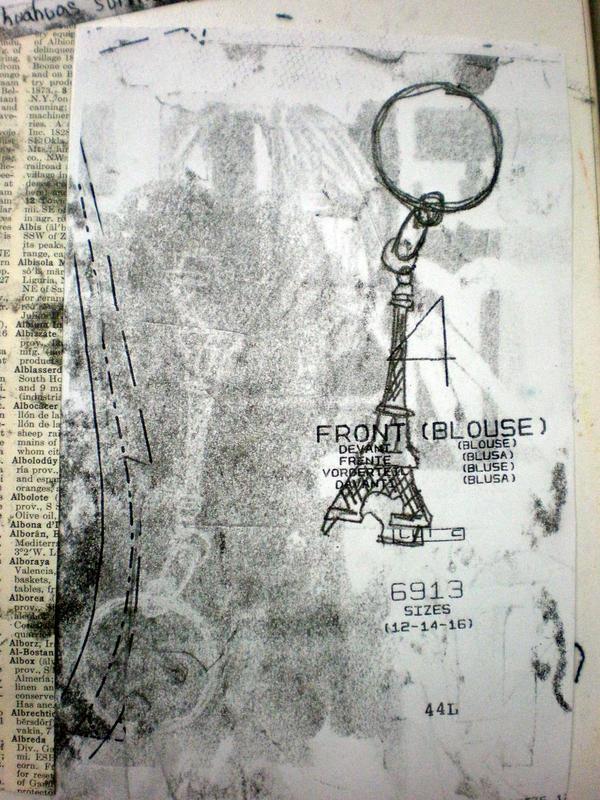 Printing: Paris IV by katiedraws