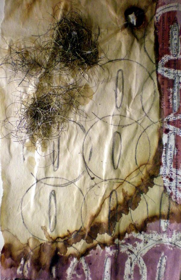 Debris Collage VII by katiedraws