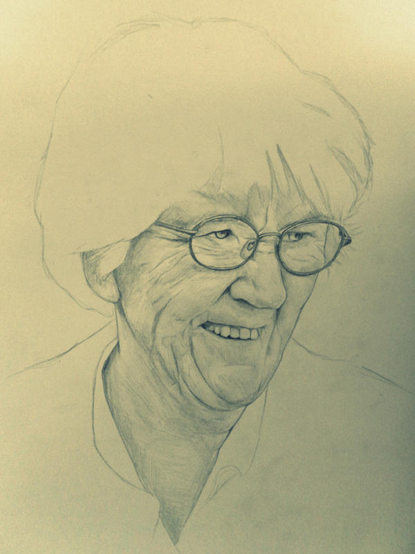 Granny by katiedraws