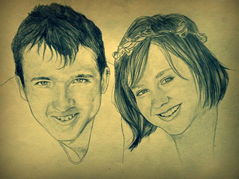 Craig and Miranda by katiedraws