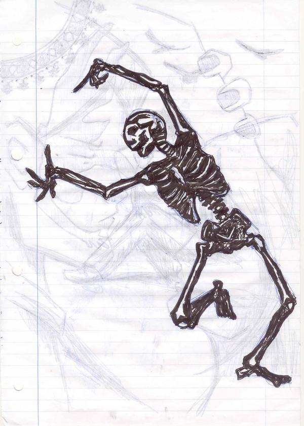 Bones by katiedraws
