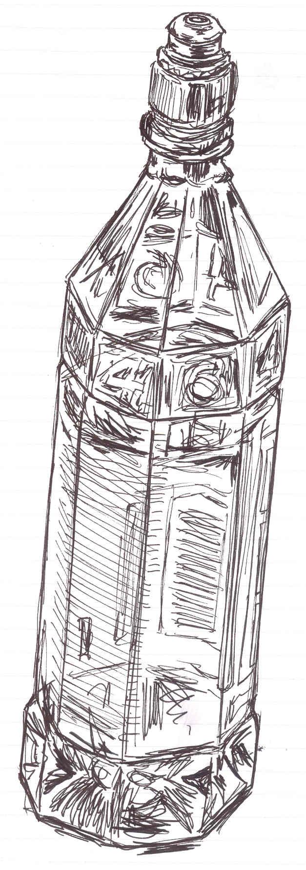 Bottle by katiedraws