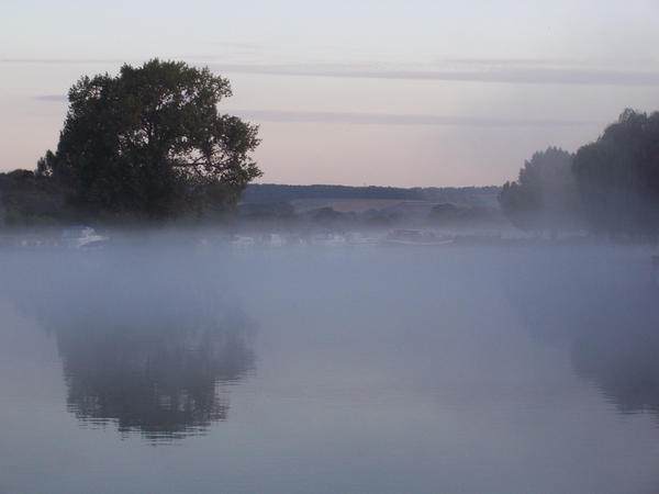 Mist by katiedraws