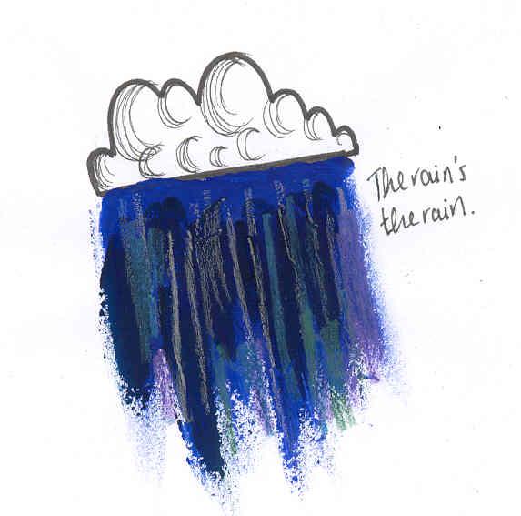 The Rain by katiedraws