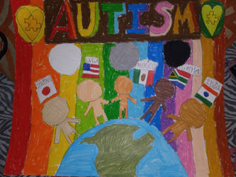 I wish you all a happy autism awareness month
