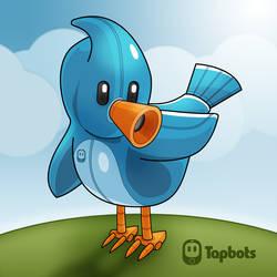 Robot Twitter Bird