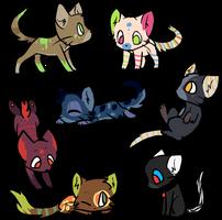 Cat Adopt #1 CLOSED by Ratoah