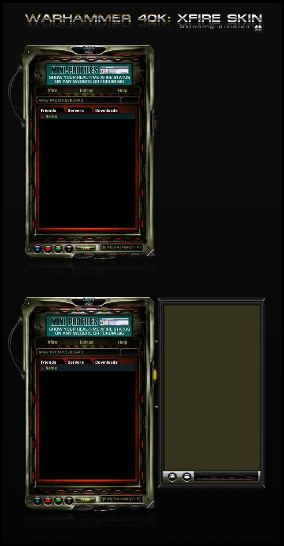 Xfire: Warhammer 40k by xdreamer