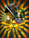 Quick Zelda Poster Streamed for Fun