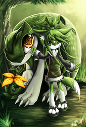 Leaf and her partner by PenguinEXperience