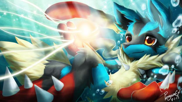 Pokemon Fanart : Mega Lucario