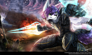Commission for Arkee by PenguinEXperience