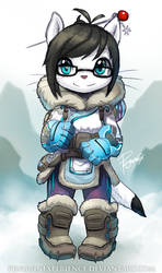 Ellie in Mei costume