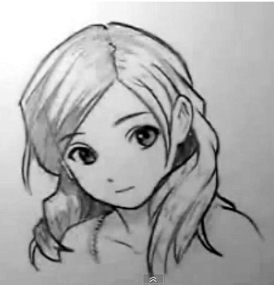 how to draw a manga girl