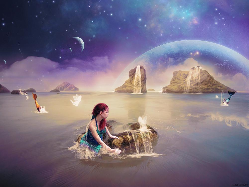 Mermaids and water nymphs by sjoekie